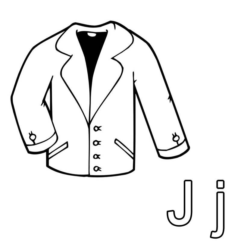 Kostenlose Malvorlage Buchstaben Lernen Ausmalbild J Zum