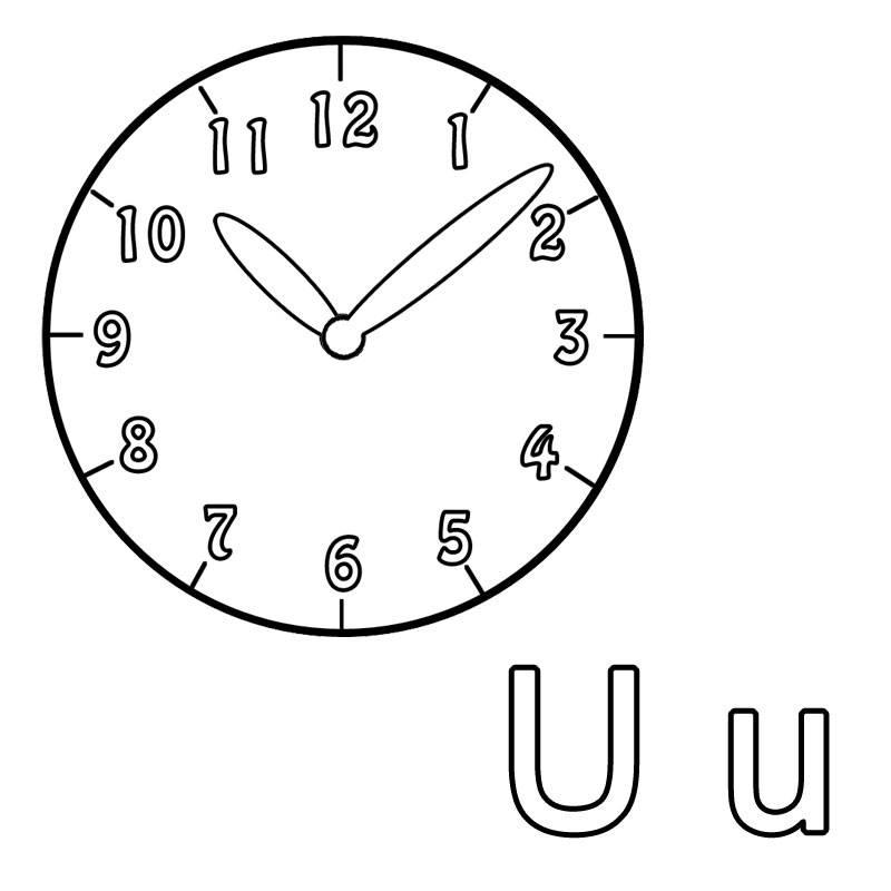 Malvorlagen Uhren Gratis | My blog
