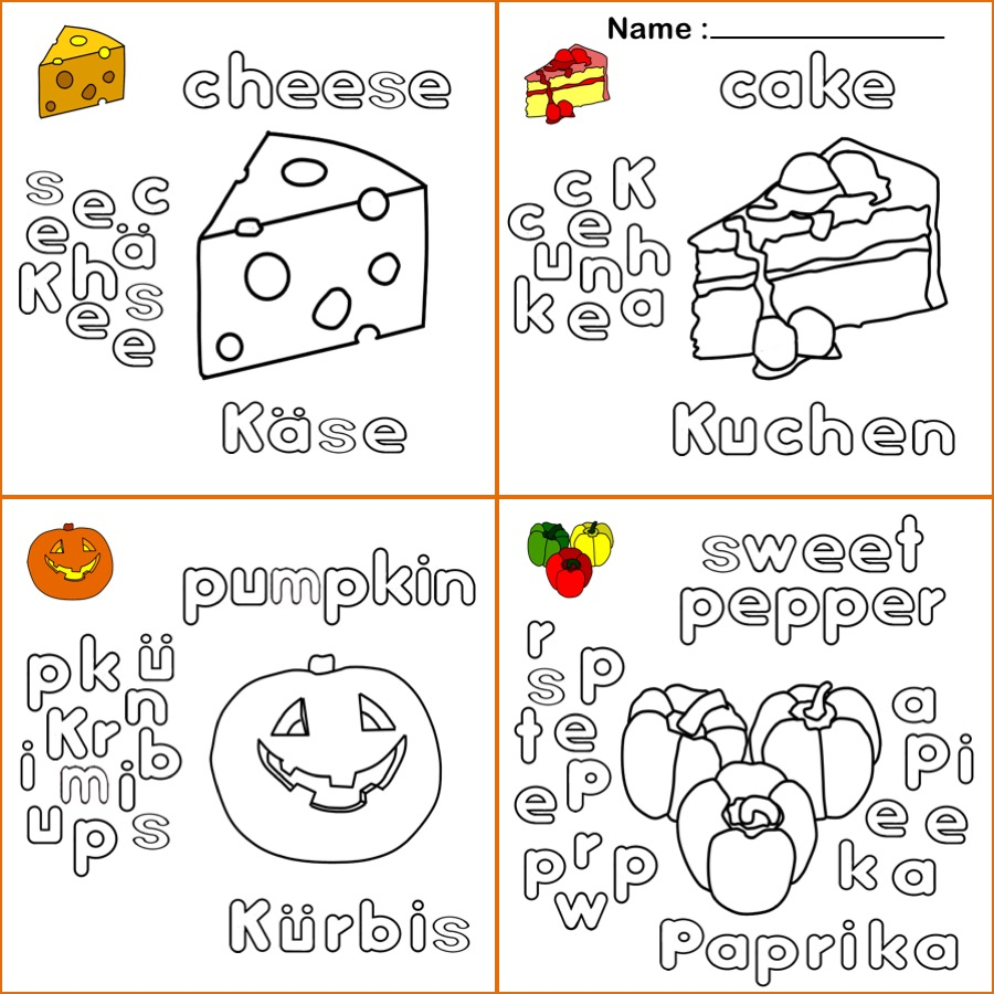ausmalbild arbeitsblätter für kinder arbeitsblatt käse
