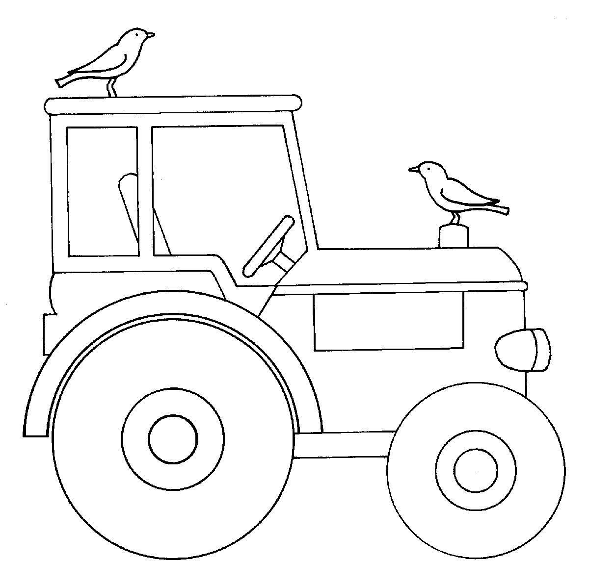 Ausmalbilder Kleiner Roter Traktor : Wunderbar Traktor Malvorlagen F R Kleinkinder Ideen Malvorlagen