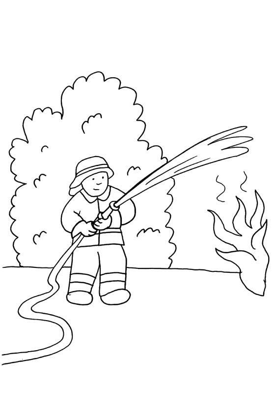 Kostenlose Ausmalbilder Und Malvorlagen Feuerwehr Zum Ausmalen Und