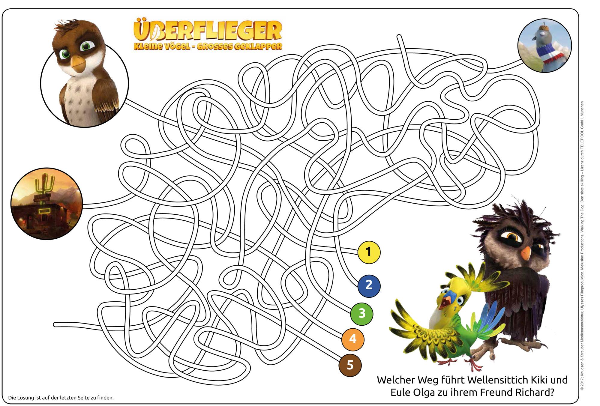 Ausmalbild Labyrinthe Für Kinder Labyrinth überflieger Kleine