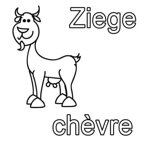 Erfreut Ziege Vorlage Zeitgenössisch - Dokumentationsvorlage ...