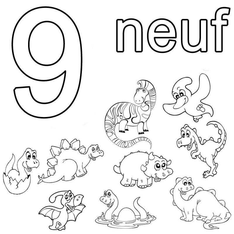 ausmalbild franz246sisch lernen franz246sische neuf kostenlos
