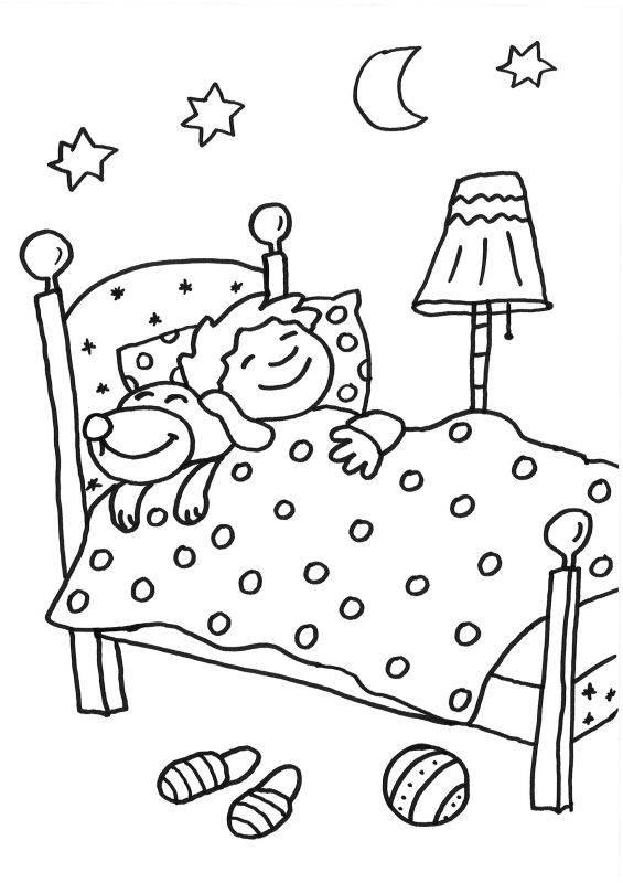 Ziemlich Bett Malvorlagen Zum Ausdrucken Ideen - Ideen färben ...