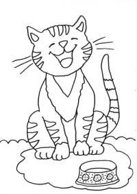 kostenlose ausmalbilder und malvorlagen: katzen zum ausmalen und ausdrucken