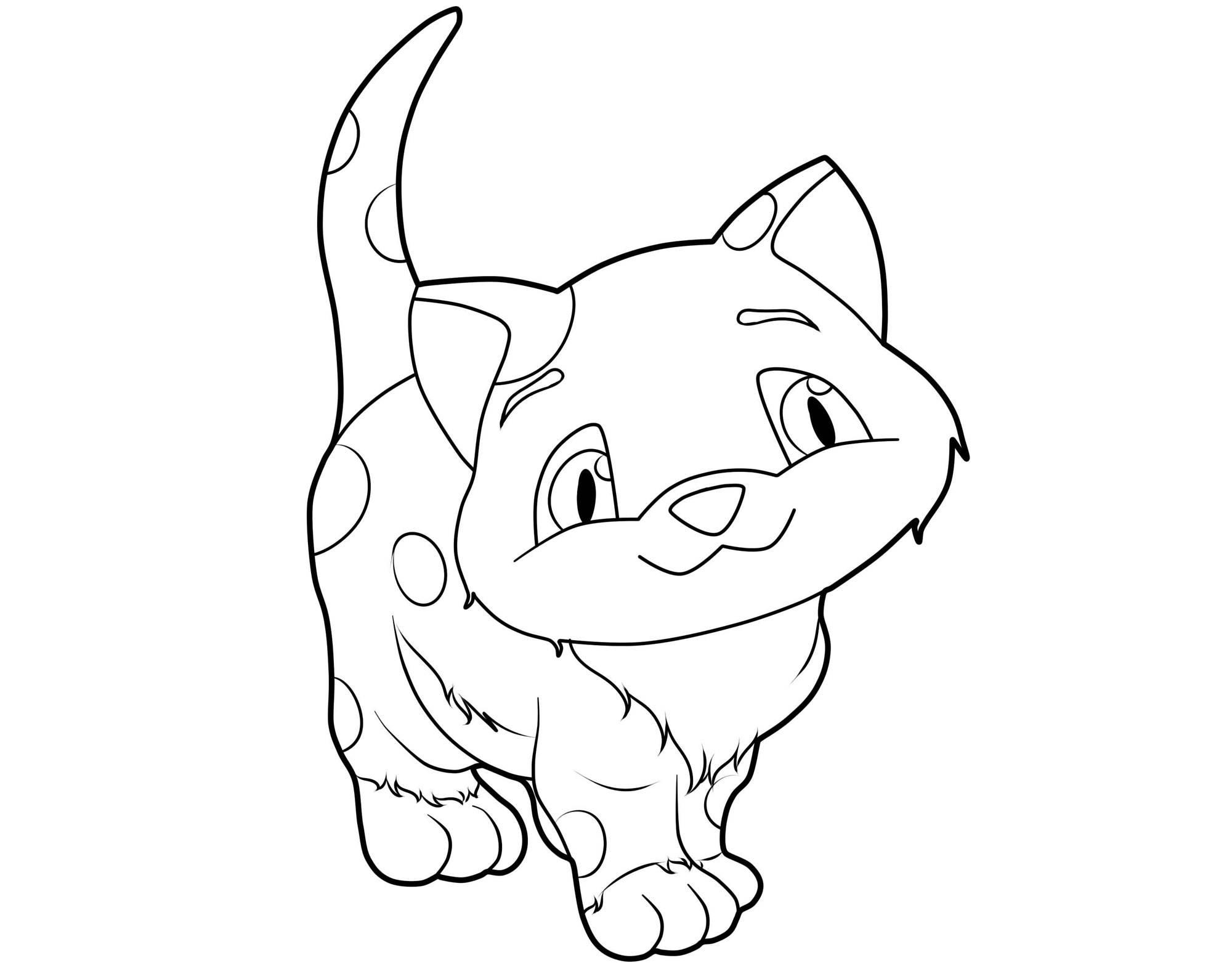 Ausmalbilder Topmodel Katzen : Gro Katze Malvorlagen Zum Ausdrucken Ideen Malvorlagen Von Tieren