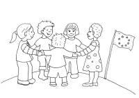 kostenlose ausmalbilder und malvorlagen: kinder aus aller welt zum ausmalen und ausdrucken
