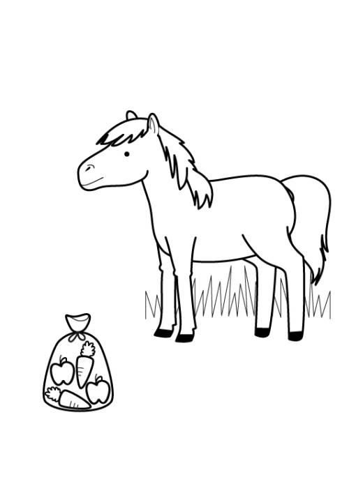 kostenlose malvorlage pferde pferd zum ausmalen zum ausmalen. Black Bedroom Furniture Sets. Home Design Ideas