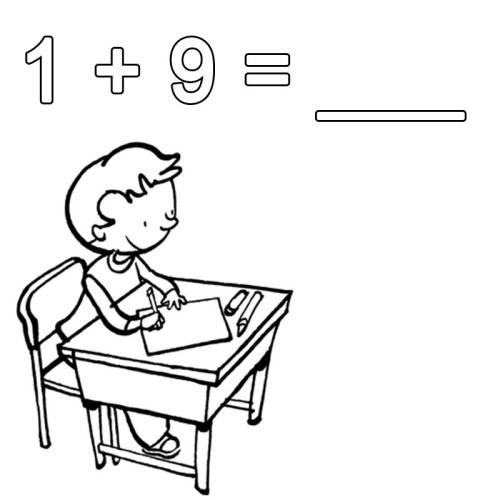 kostenlose malvorlage rechnen lernen 19 zum ausmalen