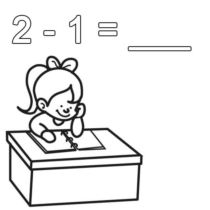 kostenlose malvorlage rechnen lernen 21 zum ausmalen