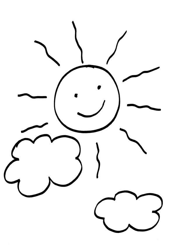 Malvorlagen Sonne Wolken | My blog