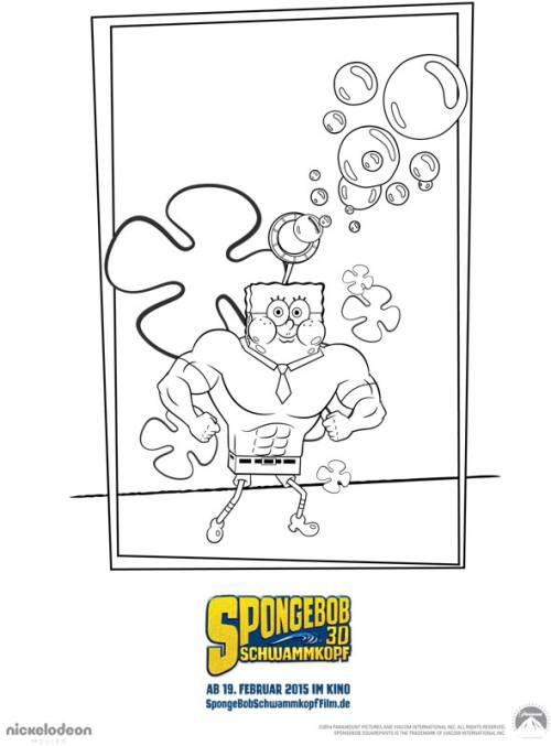Kostenlose Malvorlage Spongebob Schwammkopf Spongebob Schwammkopf 8