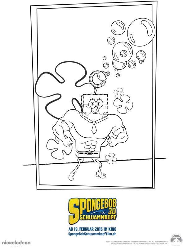 Ausmalbild Spongebob Schwammkopf Spongebob Schwammkopf 8 Kostenlos