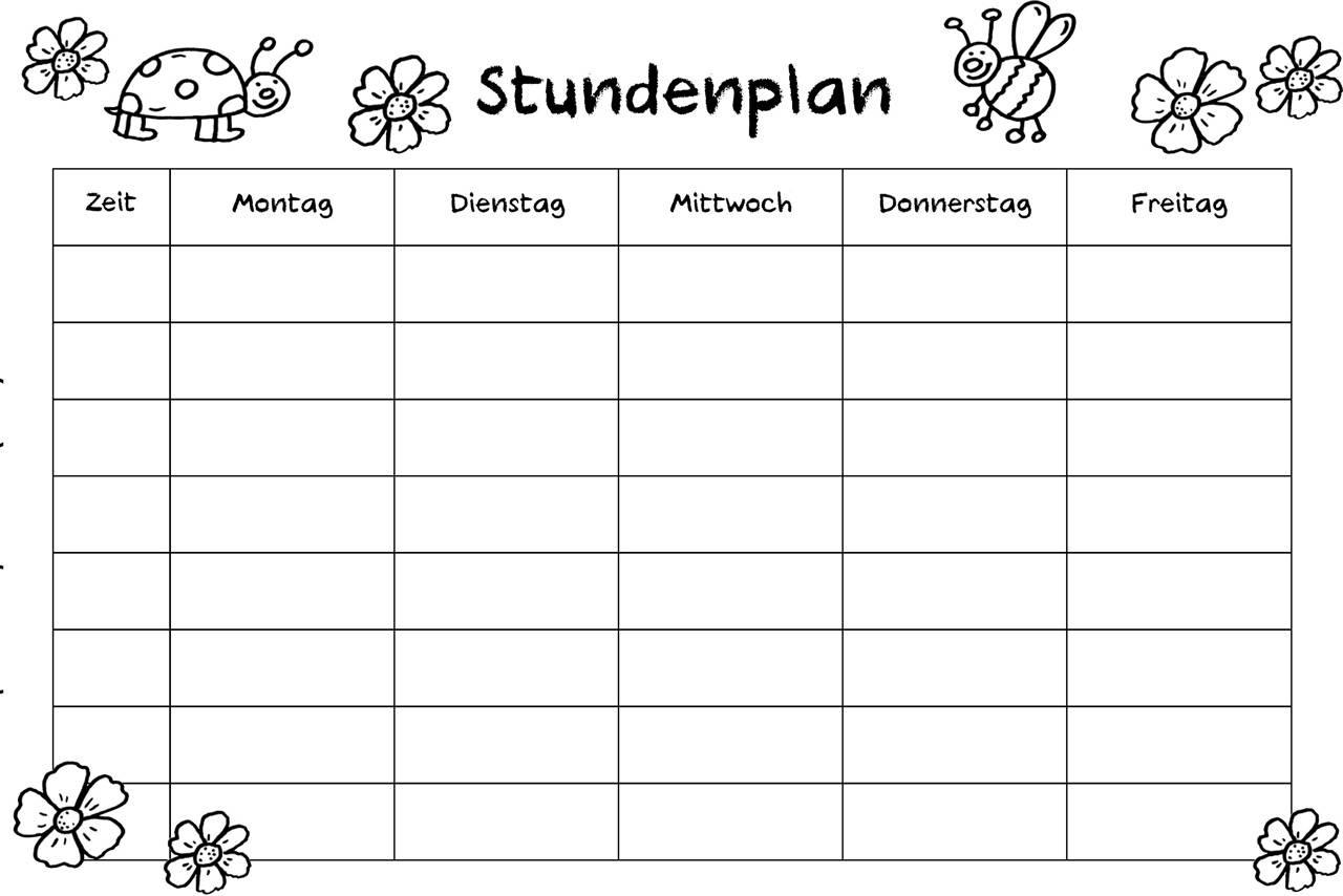 Wunderbar Kindergarten Unterrichtsplan Vorlage Fotos - Bilder für ...