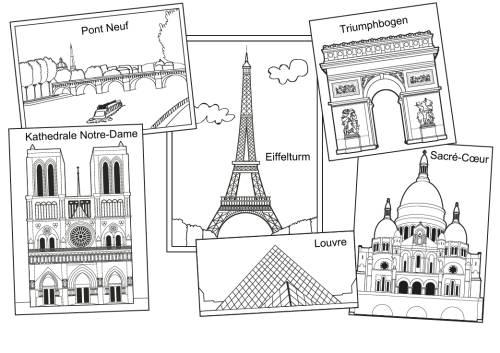 Gemütlich Eiffelturm Malvorlagen Ideen - Ideen färben - blsbooks.com