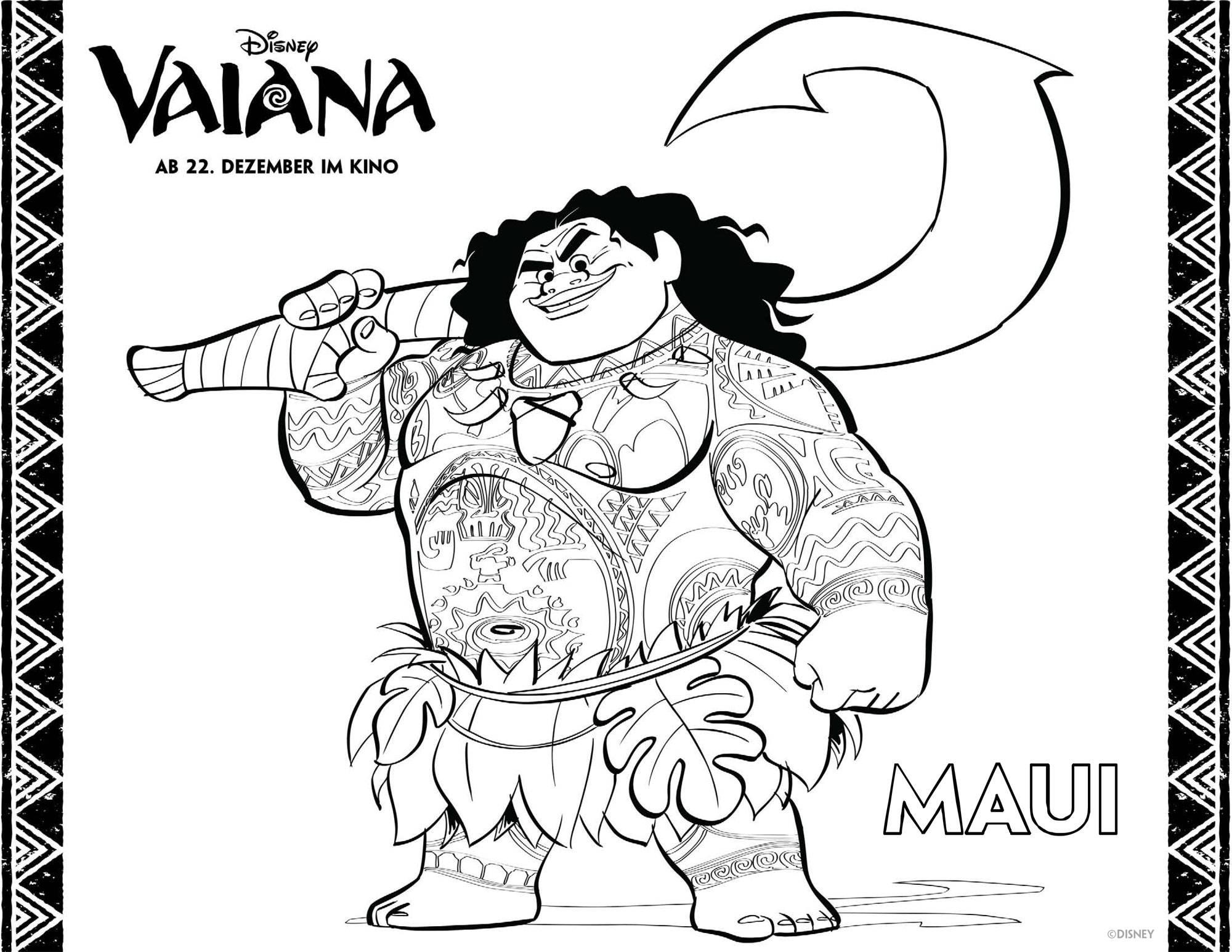 Vaiana Malvorlagen | heimhifi.com