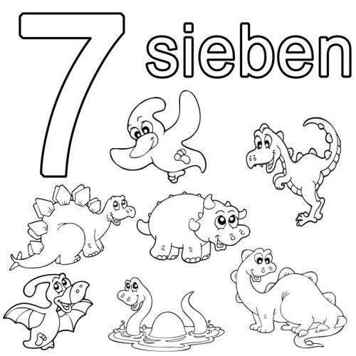 die zahl sieben