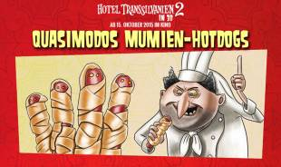 Rezepte für Kinder - Halloween-Party: Quasimodos Mumien-Hotdogs