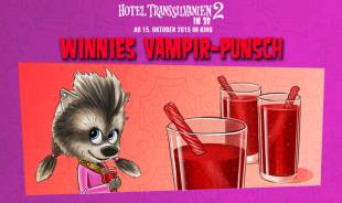 Rezepte für Kinder - Halloween-Party: Winnies Vampir-Punsch