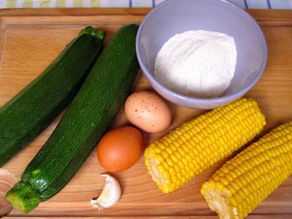 Rezepte Für Kinder Deftige Hauptgerichte Zucchini Mais Küchlein
