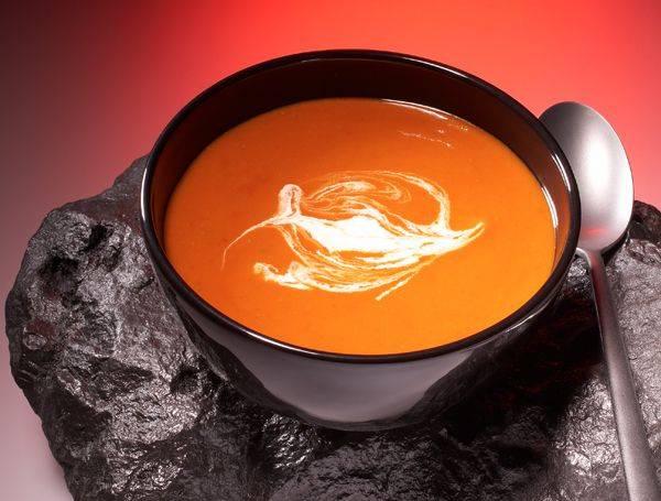 rezepte für kinder  suppen vulkansuppe kochen
