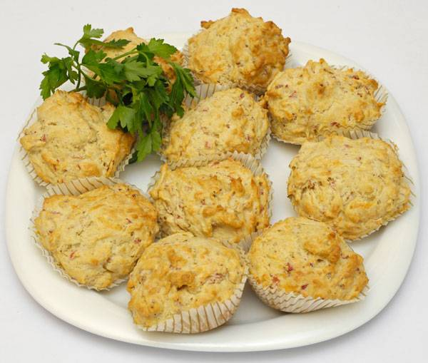 Www Sanella De Rezepte: Herzhafte Schinken Käse Muffins