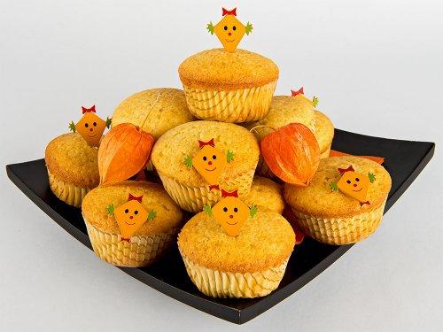rezepte f r kinder halloween party vanille cupcakes. Black Bedroom Furniture Sets. Home Design Ideas