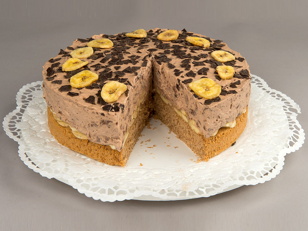 Rezepte Fur Kinder Schokoladen Rezepte Schoko Sahne Torte Mit Bananen