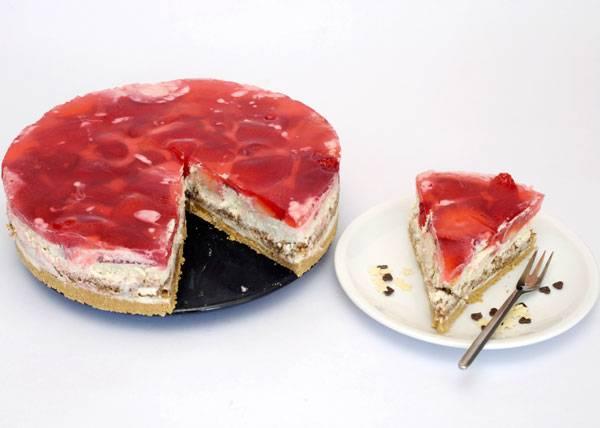 rezepte f r kinder kuchen und torten rezept f r frischk setorte mit erdbeeren. Black Bedroom Furniture Sets. Home Design Ideas