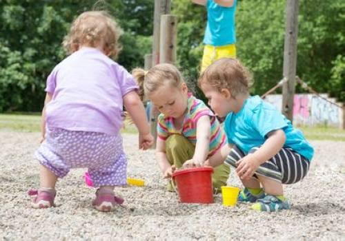 Spiel Für Kinder Spiele Für Draußen Sandtransport Spielen