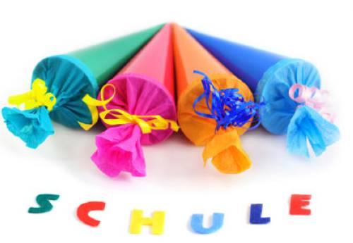 Basteln Mit Kindern Kostenlose Bastelvorlage Schultüten