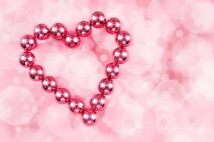 Herz Aus Perlen Zum Valentinstag