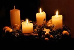 Adventskranz 3 Kerzen