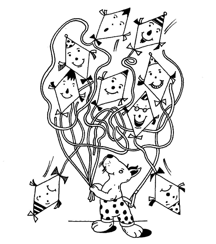 Ausmalbild Labyrinthe Fur Kinder Drachensteigen Kostenlos Ausdrucken