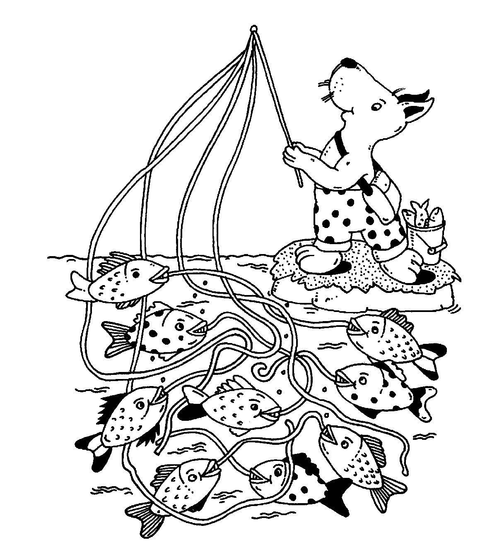 kuchen backofen ausmalbilder fische zum ausdrucken
