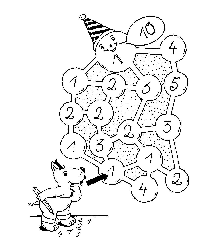 Ausmalbild Bilderkreuzworträtsel und Sudoku: Immer 10 kostenlos ...