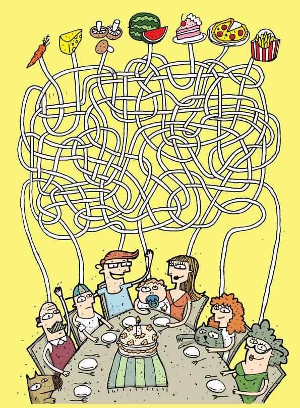 ausmalbild labyrinthe für kinder familienfeier kostenlos