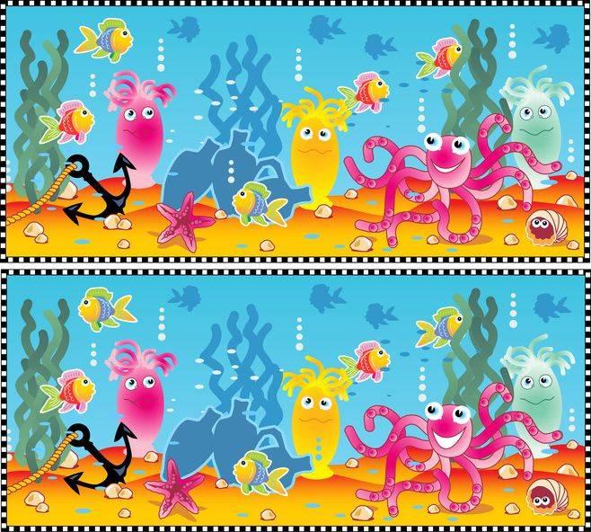 ausmalbild suchbilder f252r kinder unterwasser kostenlos