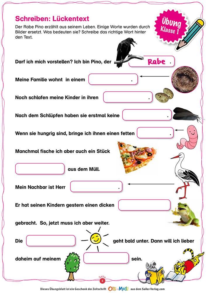 Schön Beschreibende Wörter Schreiben Weiter Bilder - Beispiel ...