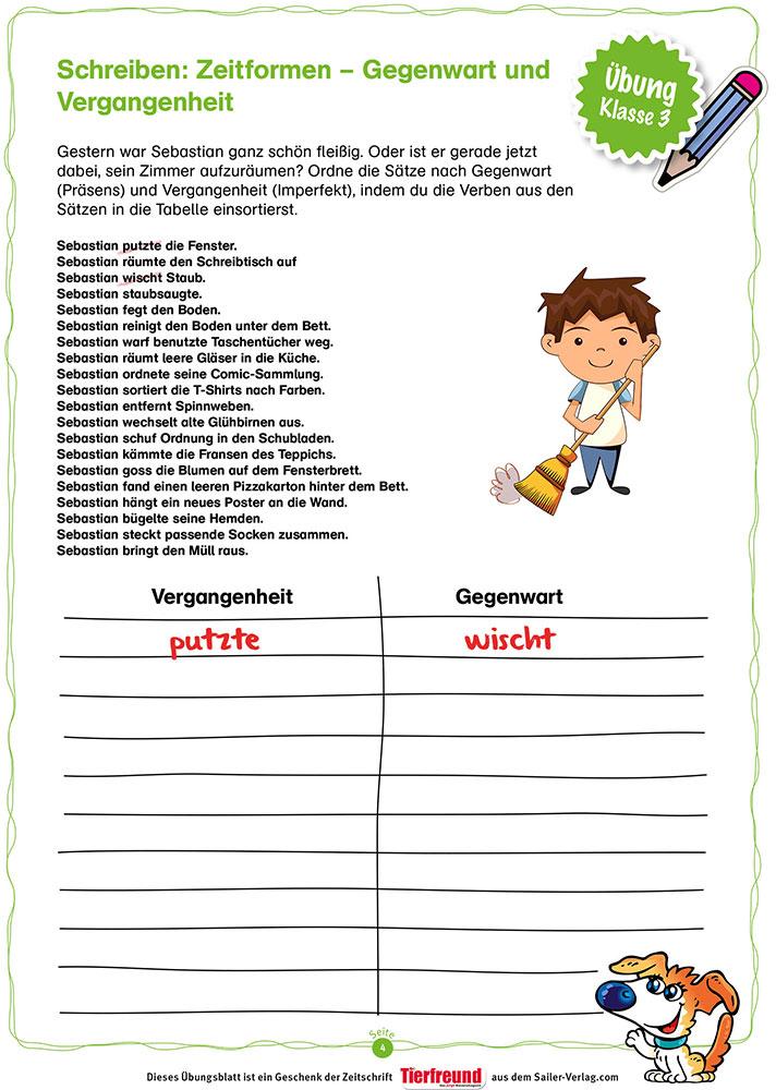 Schreiben Klasse 3 – Die besten Übungen für die Grundschule