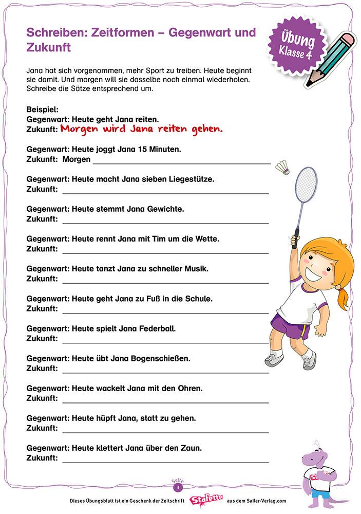 Schreiben Klasse 4 Die Besten übungen Für Die Grundschule