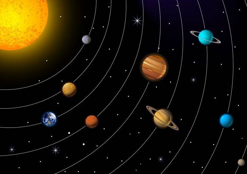 Solar System Colonization Project 2000 on Solar System Coloring Pages