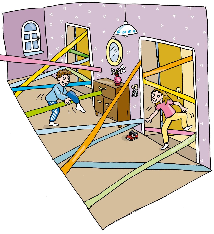 Spinnennetz Spiel