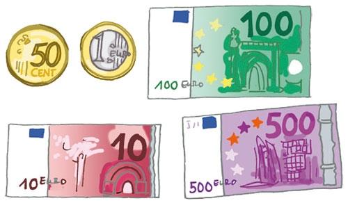 Ausgezeichnet Malvorlagen Geld Zeitgenössisch - Ideen färben ...
