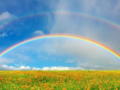 welche farbe hat der regenbogen