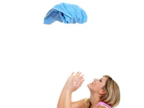 handtuch werfen